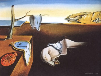 the-persistence-of-memory   Dali